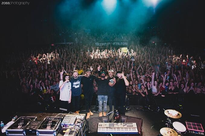PK goes Backstage with Keys N Krates