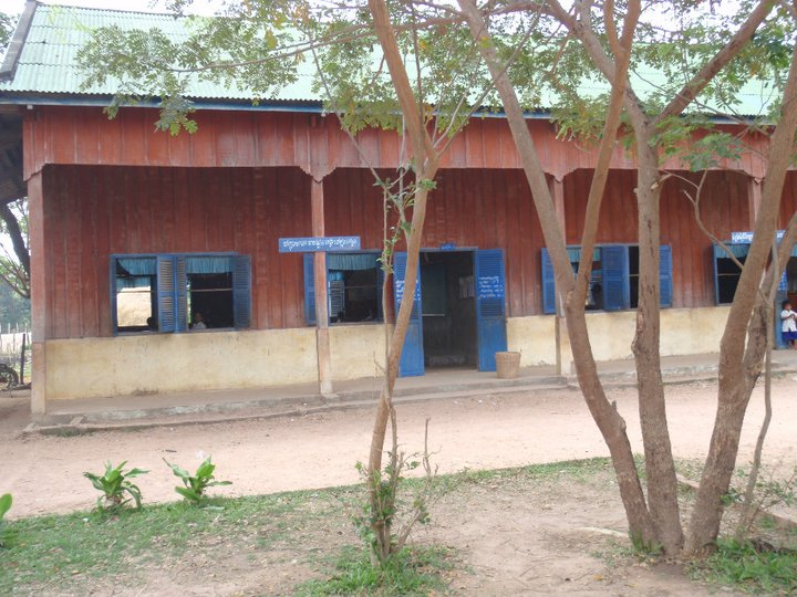 One of two School houses to teach over 450 students