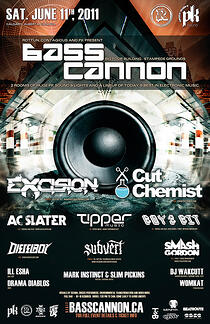 BASS CANNON – Presented by Rottun, Contagious & PK Sound