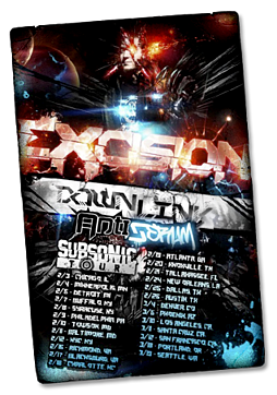 EXCISION - Subsonic U.S. Tour with PK Sound