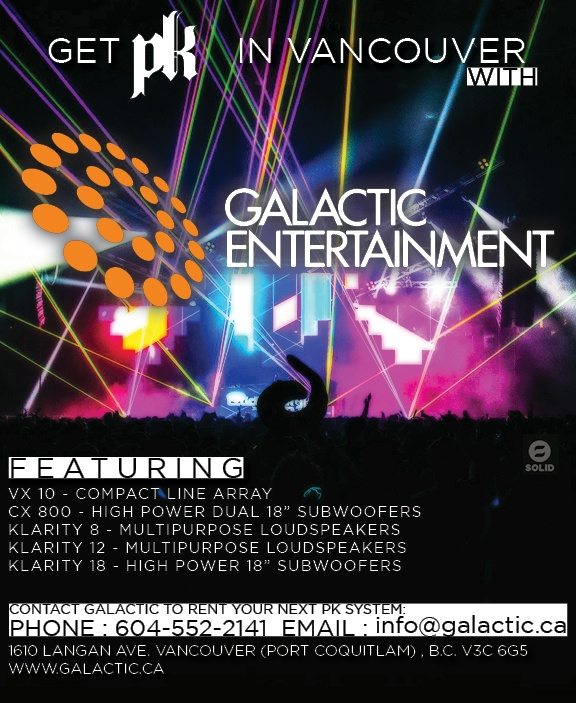 Vancouver's Galactic Entertainment is growing its PK Sound inventory