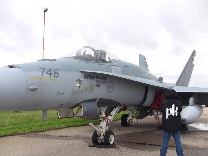 Race the Base (Post Race) - Not to spoil the post but the fighter jets won