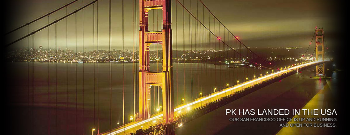 PK Has Landed in the USA