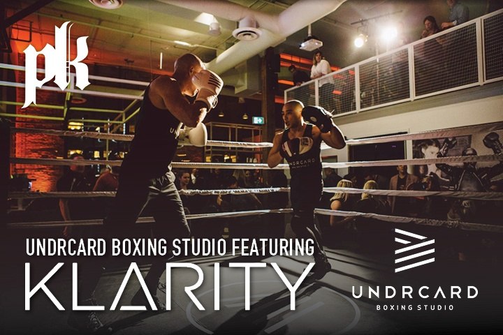 PK teams up with UNDRCARD Boxing Studio for a combo of champion sound and champion fitness