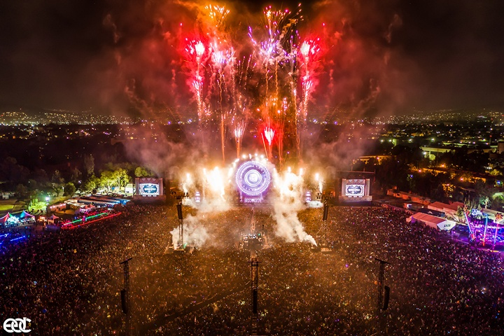 90,000 people at Insomniac's EDC Mexico Experience Trinity