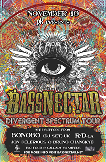 BASSNECTAR November 19, 2011 – Presented by PK Sound