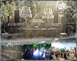 Shambhala 2011 – Four stages with PK Sound