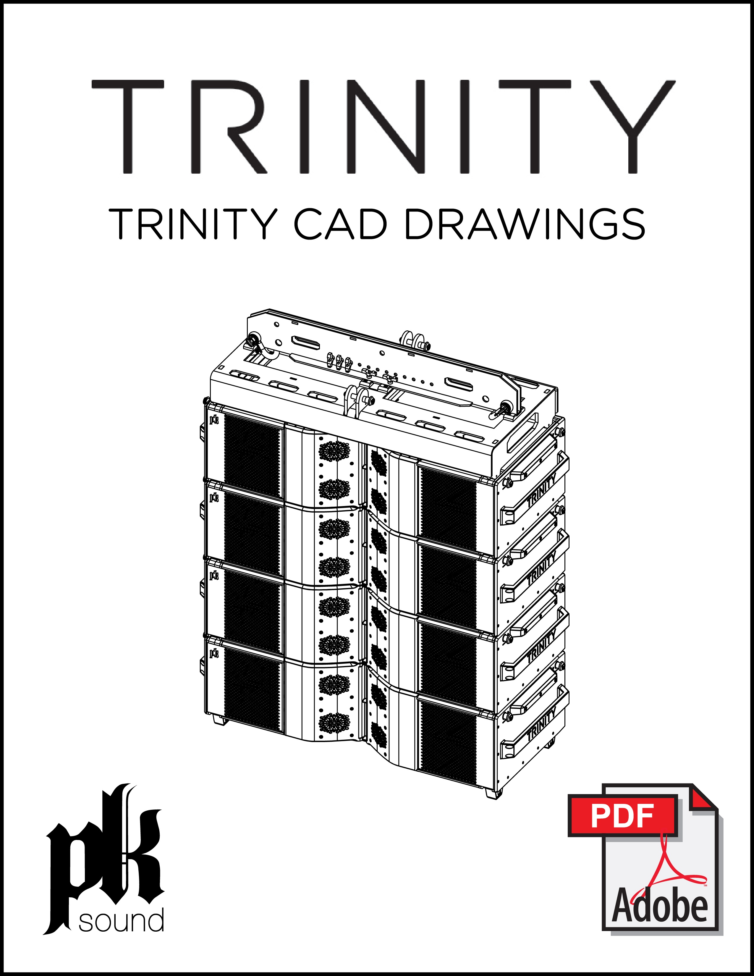 Download Trinity CAD drawings