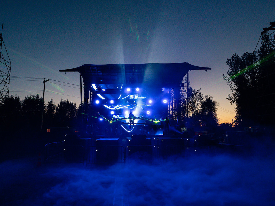 PK SOUND Delivers High-Octane Audio for Road Rage Drive-In Concert