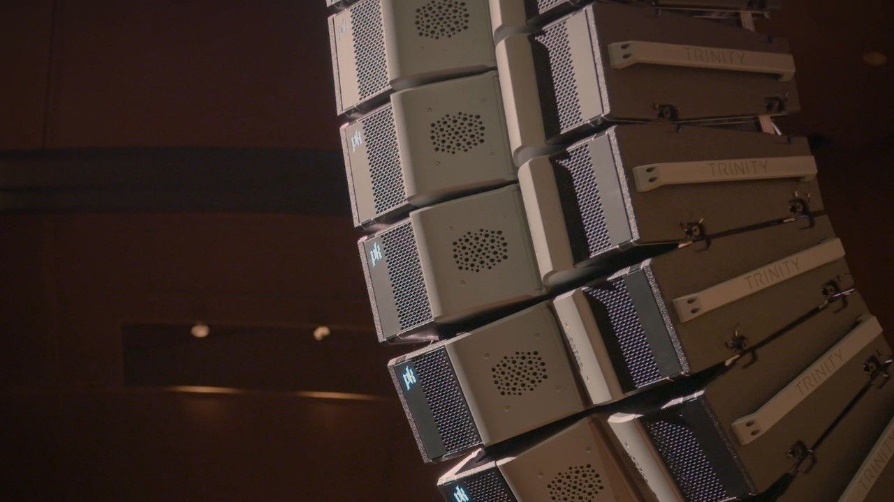Introducing Trinity 10 - The newest member of PK Sound's robotic loudspeaker family.