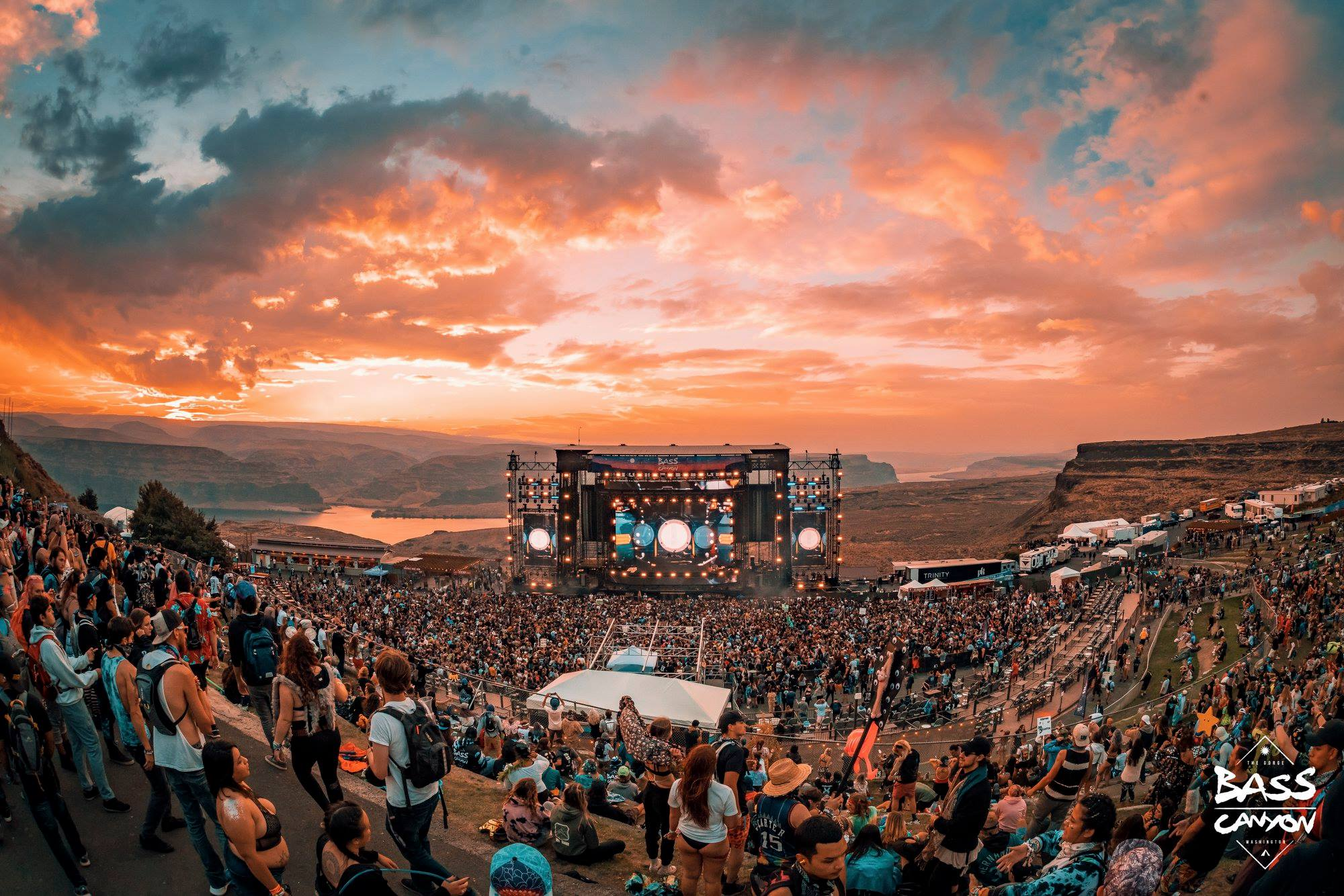 PK SOUND DELIVERS PRISTINE SOUND FOR INAUGURAL BASS CANYON FESTIVAL