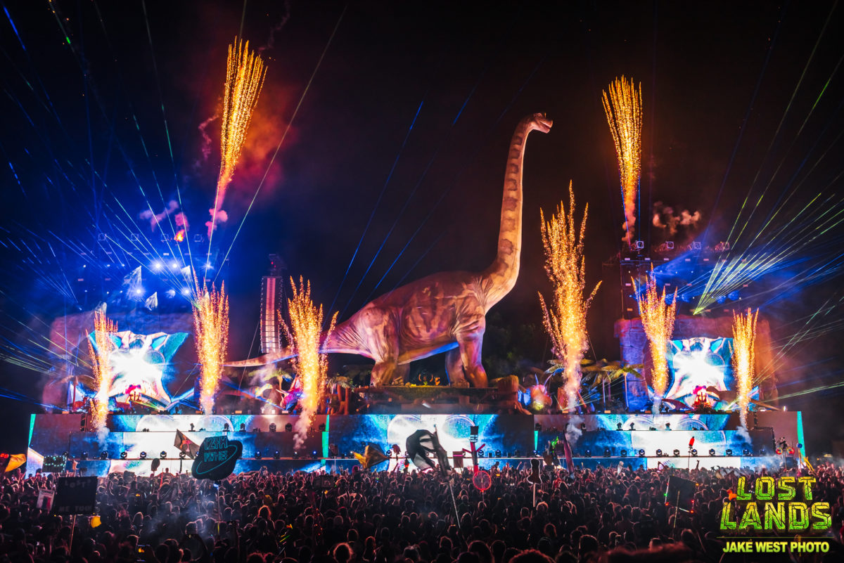 Lost Lands Music Festival features largest ever PK Sound installation