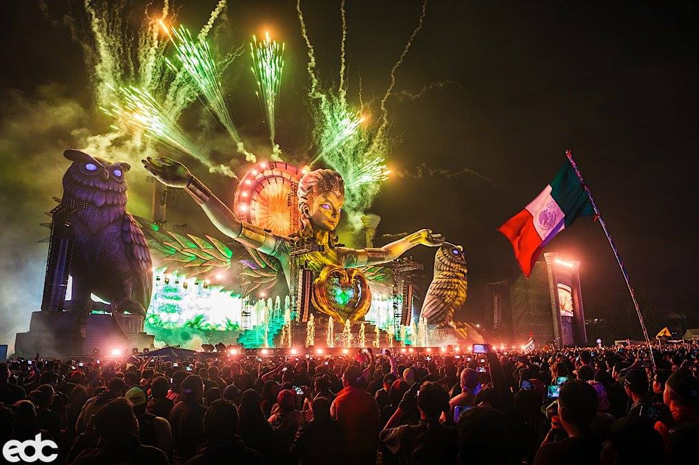 PK Trinity for 110,000 people at EDC Mexico 2018