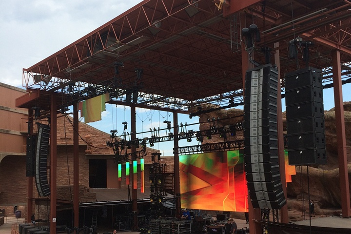 """Trinity Debuts @Red Rocks for 2nd Annual """"Dead Rocks"""" Show"""
