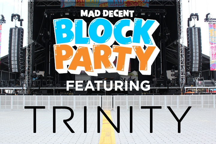 Trinity kicks off with Mad Decent Block Party